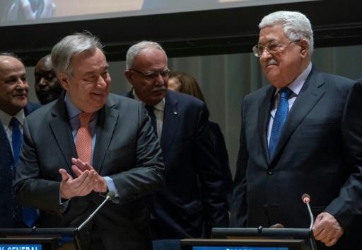 ONU: les Palestiniens, en quête d'un statut d'Etat membre, prennent la tête du G77