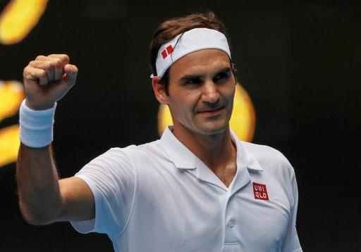 Open d'Australie: Federer sait aussi être matinal
