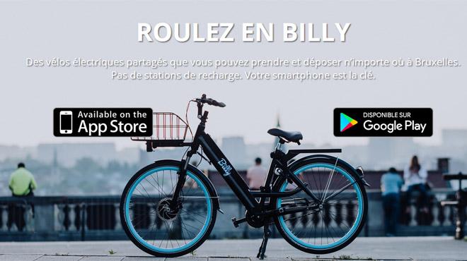 Désormais, vous pouvez utiliser des vélos électriques partagés à Bruxelles