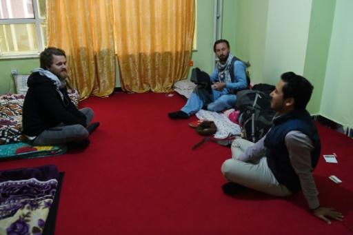 En Afghanistan, des touristes