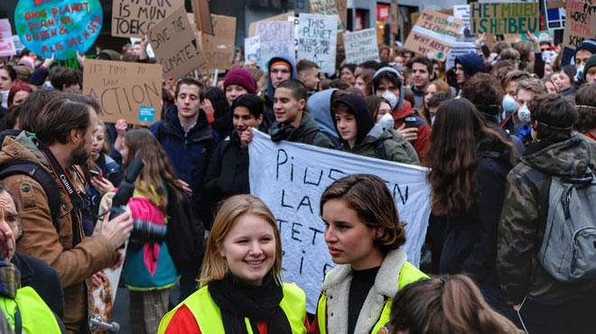 Climat ACTE II: des élèves francophones veulent rejoindre le mouvement de ce jeudi mais...
