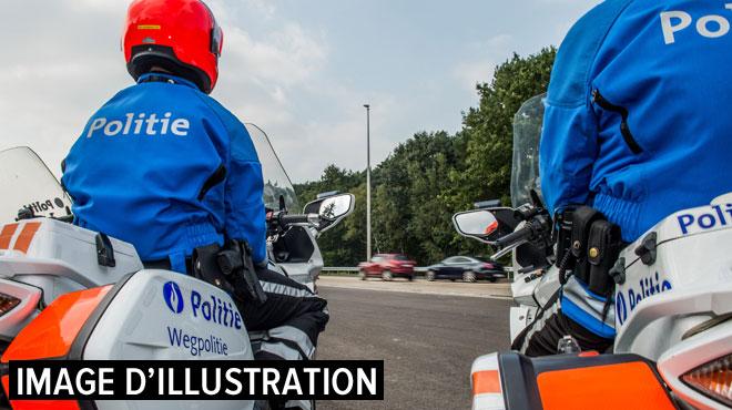 Un chauffard interpellé après une course-poursuite de Nivelles à Pont-à-Celles