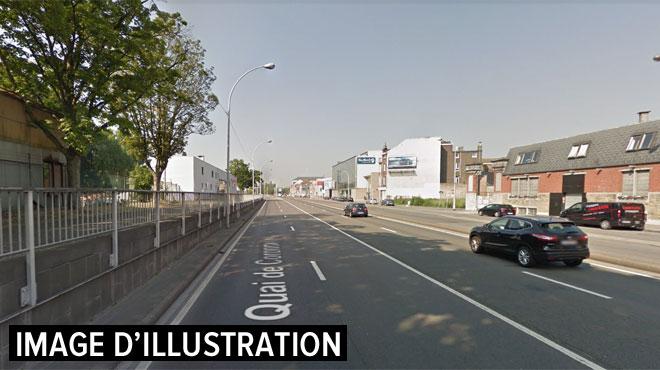 Un camion sur le flanc à Liège, des embarras de circulation à prévoir