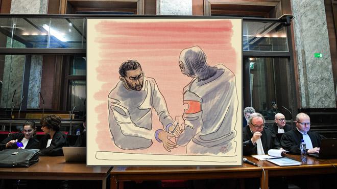 Procès Nemmouche: vu le silence du principal accusé, il n'y a rien de prévu ce jeudi...