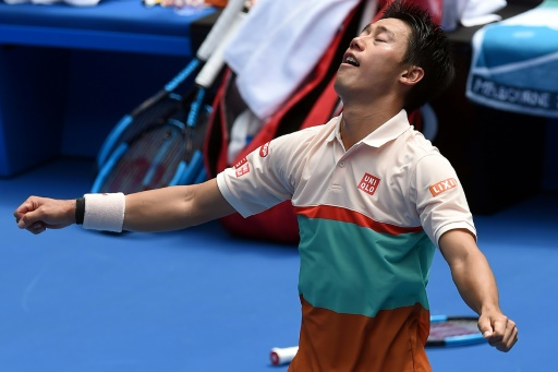 Open d'Australie: Nishikori déjoue le piège Karlovic au super tie-break