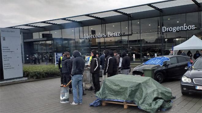 La grève se poursuit chez Mercedes Europa: