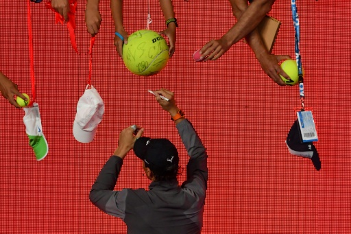 Open d'Australie: Nadal-De Minaur et Wozniacki-Sharapova en tête d'affiche
