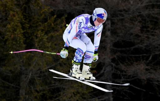 Ski: Vonn 10e de l'entraînement à Cortina d'Ampezzo pour son retour