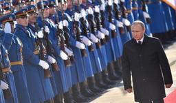 Les Serbes offrent un accueil triomphal à Poutine