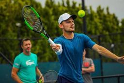 Open d'Australie - Thierry Van Cleemput, le coach de Goffin: