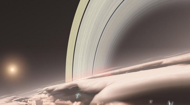 Les anneaux de Saturne sont tout jeunes
