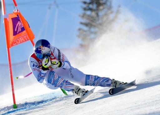 Ski: Vonn loin des meilleures pour son retour à Cortina, Siebenhofer gagne