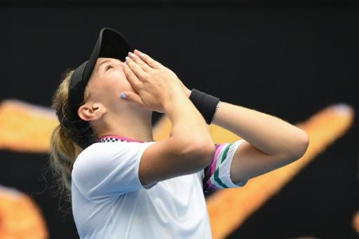 Open d'Australie: à 17 ans, Anisimova déjà en huitièmes de finale