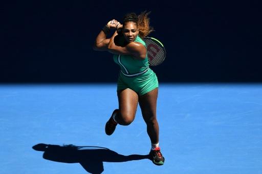 Open d'Australie: Serena ne s'attarde pas