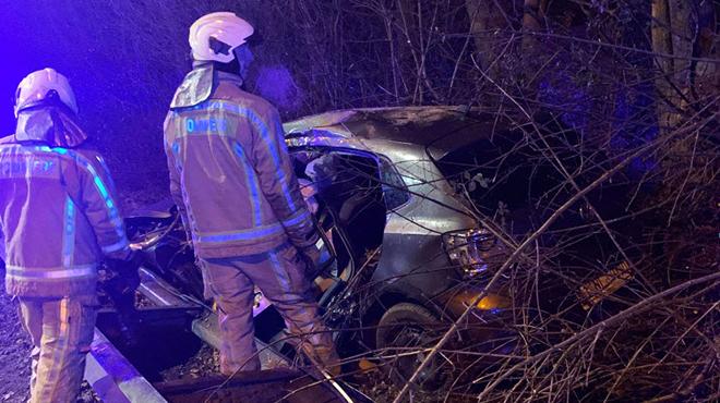 Gilly: il perd le contrôle de sa voiture sur le R3 et passe au-dessus de la rambarde de sécurité