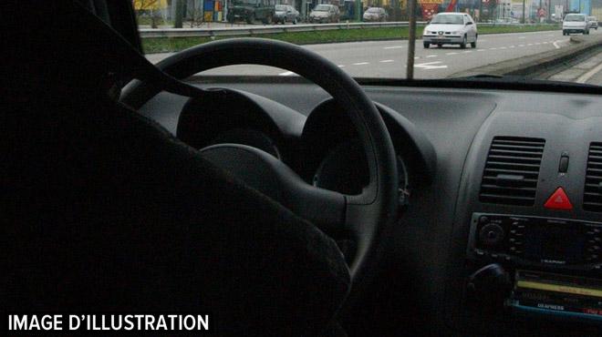 Course poursuite en région liégeoise au début du mois: le jeune homme, qui avait roulé à 200 km/h, a été intercepté