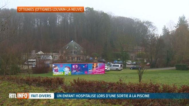 Axel, le petit garçon victime d'un accident lors d'une sortie scolaire à la piscine d'Ottignies, s'est réveillé 1