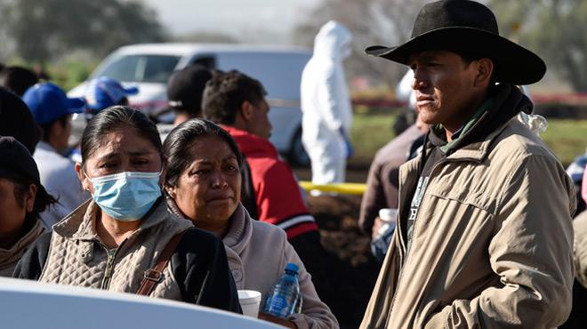 Explosion d'un oléoduc percé par des voleurs au Mexique: le bilan grimpe à 73 morts