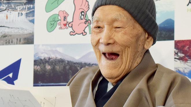 L'homme le plus âgé du monde est décéd