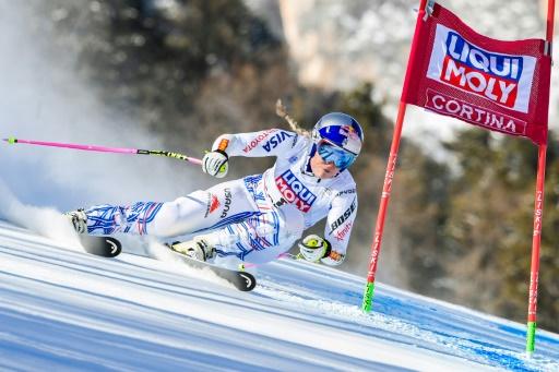 Ski: Lindsey Vonn sort de piste pour sa dernière à Cortina