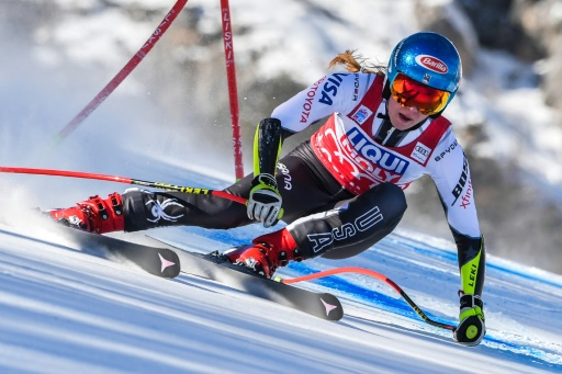 Ski: 11e victoire cette saison pour Shiffrin au Super G de Cortina, sortie de Vonn