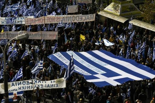 Des milliers de manifestants à Athènes contre l'accord sur la Macédoine