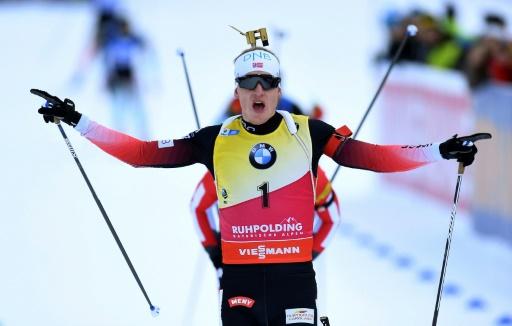 Biathlon: 9e victoire de Boe à la Mass start de Ruhpolding, Fillon-Maillet sur le podium
