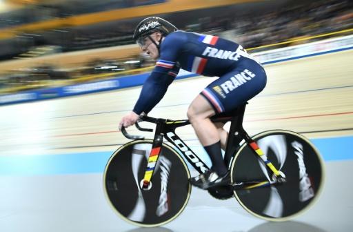Cyclisme sur piste: Vigier 3e de la vitesse à Cambridge en Coupe du monde