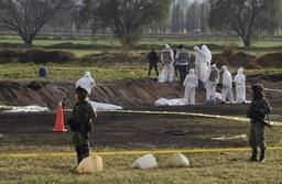Explosion d'un oléoduc au Mexique: le bilan s'alourdit à 79 morts