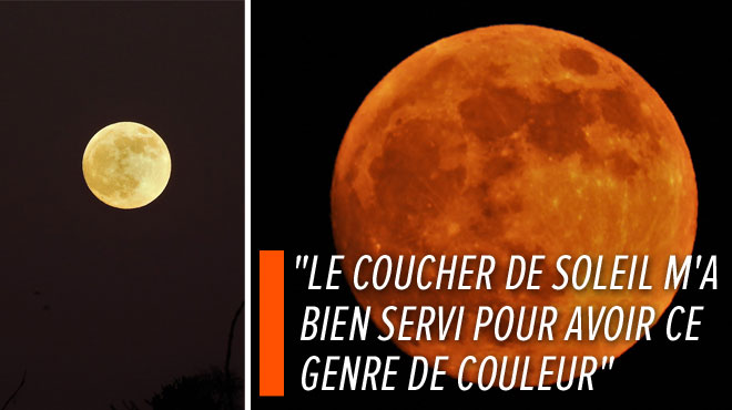 Bernard a déjà photographié une Lune impressionnante ce dimanche soir à Jemeppe-sur-Meuse