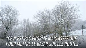 Prévisions météo: la neige arrive... au plus MAUVAIS moment de la journée de demain