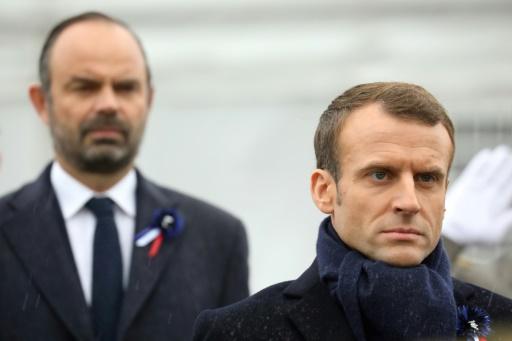 Les cotes de popularité d'Emmanuel Macron et Edouard Philippe stables