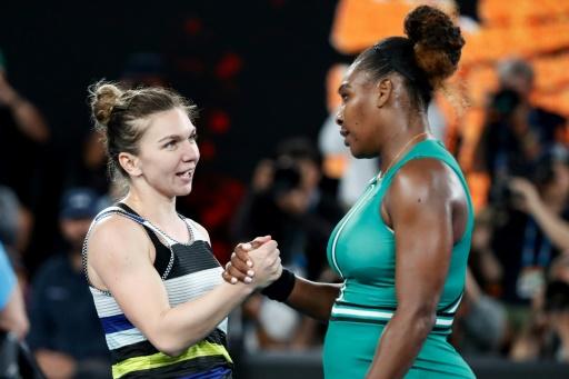 Open d'Australie: Serena Williams s'offre la N.1 mondiale Simona Halep en huitièmes
