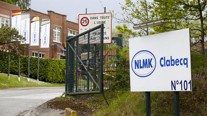 Suppression de la moitié des emplois à NLMK Clabecq: le travail reprend ce matin