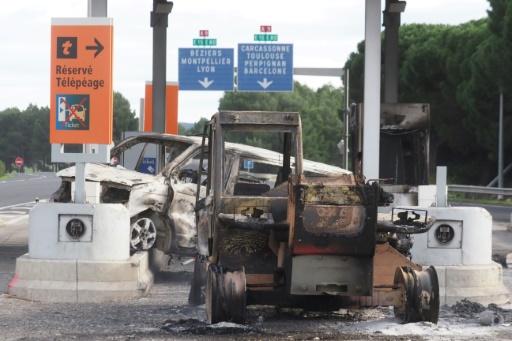 Incendie du péage de Narbonne: 12