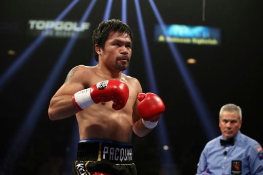 Boxe: la blessure à un oeil de Pacquiao moins grave que redouté