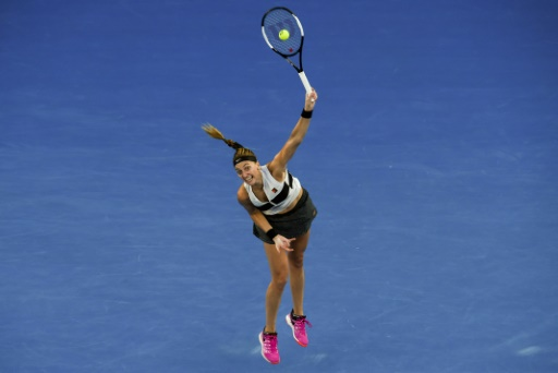 Open d'Australie: première demi-finale en Grand Chelem depuis cinq ans pour Kvitova