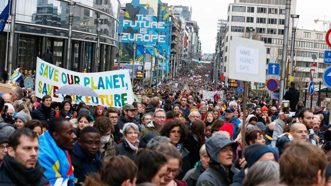 Une nouvelle marche pour le climat prévue ce week-end à Bruxelles