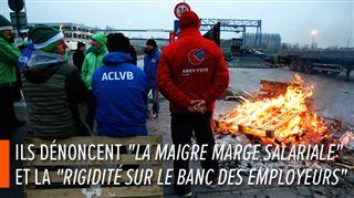 Les négociations sont dans l'impasse- les syndicats organisent une grève nationale en Belgique le 13 février 2