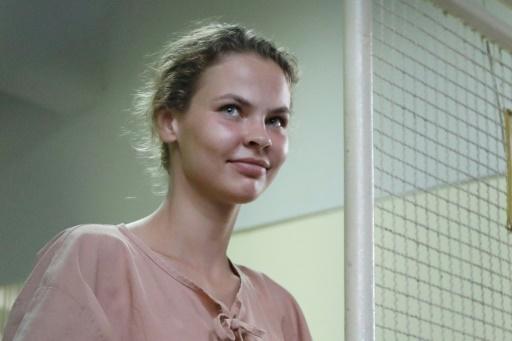Russie: libération de l'escort girl bélarusse qui affirmait avoir des secrets sur Trump