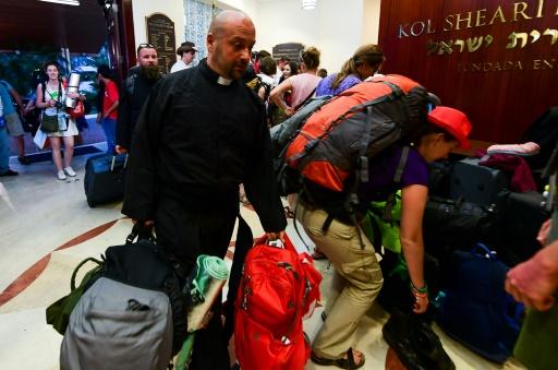 JMJ à Panama : de jeunes pèlerins polonais  hébergés dans une synagogue