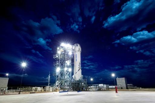 Nouveau vol d'essai mercredi pour la fusée de tourisme spatiale Blue Origin