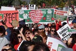 Les enseignants de Los Angeles trouvent un accord pour cesser la grève