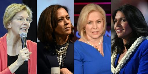 Face à Trump, les candidates donnent le coup d'envoi de la présidentielle 2020