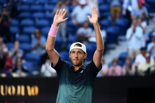 Open d'Australie: première demi-finale en Grand Chelem pour Pouille, qui dompte Raonic