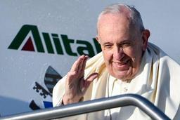 Départ du pape pour les JMJ de Panama