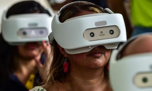 Aux JMJ, Jésus et la Vierge Marie en réalité virtuelle