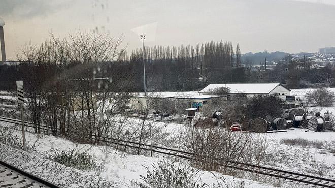 Train en panne à l'entrée de Bruxelles: un problème technique