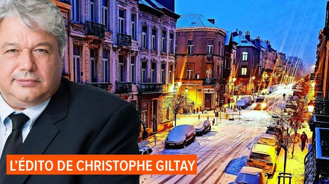 L'édito de Christophe Giltay: ll neige sur Liège (et ailleurs aussi)