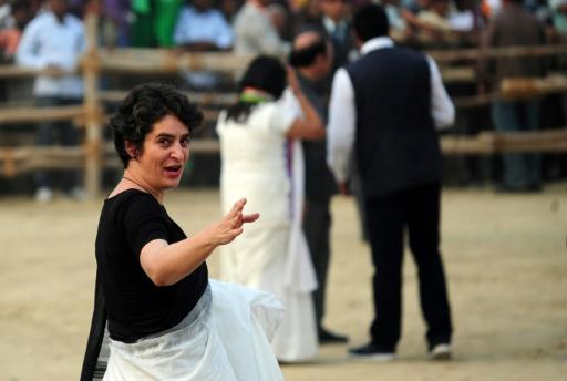 Inde : l'autre héritière des Gandhi, Priyanka, entre officiellement en politique